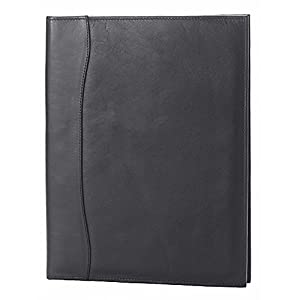 Quinley Pocket Padfolio in Black Customize: Yes