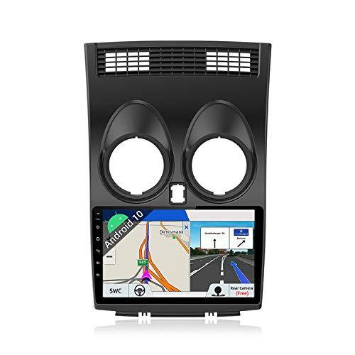 JOYX Android 10 Autoradio para Nissan Qashqai J10 (2006-2015) - [2G+32G] - Gratis Cámara - 9 Pulgada - GPS 2 DIN - IPS 2.5D - Apoyo Dab 4G WLAN Bluetooth Carplay Mandos de Volante Google Split Screen