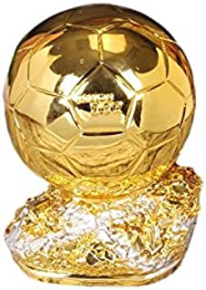 Drivworld Resin Crafts Golden Boot Awards Trophy Gold Shoes Cup Football Trophy Resin Craft Gifts Fans Souvenirs