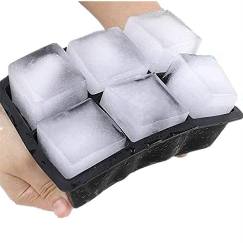 Perfect Ice Cube Silikon Cube Maker Form Kuchen Pudding Schokoladenformen Leicht zu entfernen Eisschalen Fade Resistant