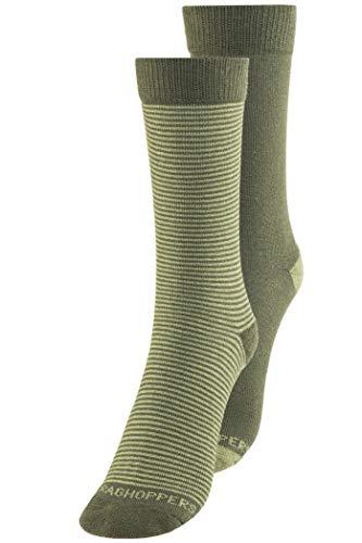 Craghoppers Herren Nl Twin Pack Socken, Park/Drygrs, 9-12