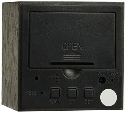 Alarm Cube 0608408264811 wekker, digitaal, LED, datum/temperatuurweergave, zwart