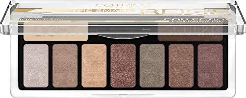 Catrice Collection Eyeshadow Palette, Lidschatten, Nr. 010 Nude But Not Naked, mehrfarbig, langanhaltend, matt, metallisch, schimmernd, Nanopartikel frei, ohne Parfüm, 3er Pack (3 x 10g)