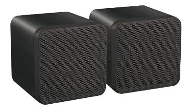 E-Audio 4-Inch Dual Cone Full Range Mini Box Speaker by E-Audio