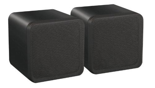 E-Audio 4-Inch Dual Cone Full Range Mini Box Speaker