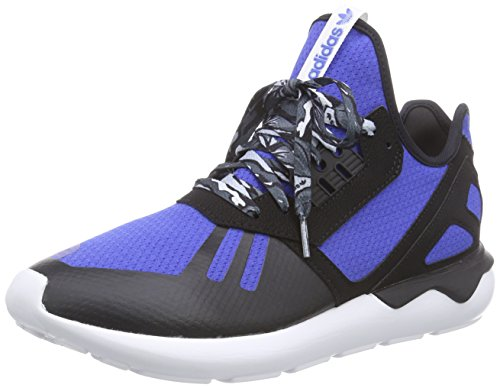 adidas Herren Tubular Runner High-Top, Blau (Collegiate Royal/Core Black/FTWR White), 42 2/3 EU