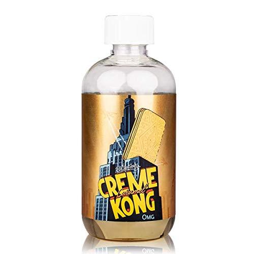 Creme Kong por JOES Juice UK Zero Nicotina 200ML SHORTFILL High VG TPD Cumple con