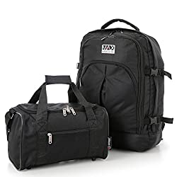 4377ad29bae Check out this great idea on Amazon.co.uk – Ryanair 55x40x20cm Maximum  Cabin Allowance Backpack   35x20x20cm Second Hand Luggage Bag – Both can be  taken as ...