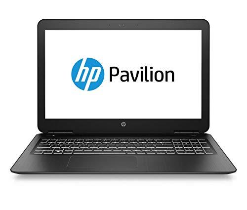 "HP Pavilion 15-bc521ns - Ordenador portátil de 15.6"" FullHD (Intel Core i5-9300H, 16GB RAM, 512GB SSD, NVIDIA GTX 1650-4GB, Sin sistema operativo), Color Negro - Teclado QWERTY Español"