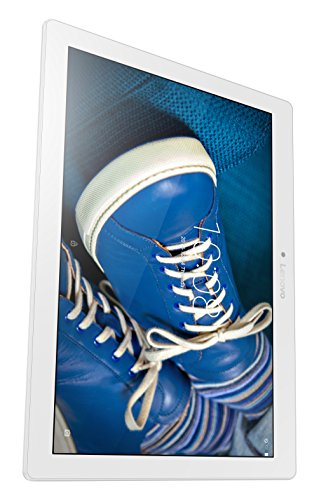 Lenovo TB2-X30L Tablet con Display da 10.1' HD IPS, Processore Qualcomm Snapdragon MSM8909 , RAM 2 GB, 32 GB HDD, LTE, S.O. Android 5.1, Bianco Perla