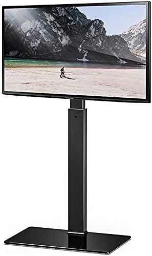 Lzpzz Soporte de TV universal para soporte de monitor de 37 a 65 pulgadas, puede girar 30 grados; altura ajustable máxima VESA600 x 400 mm, 40 kg