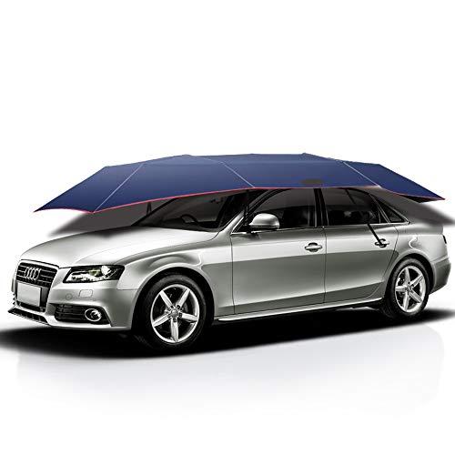 Wan&ya Auto Tenda Portatile Senza Fili a Distanza Ombra Veicolo automatizzato Sole Tenda Umbrella Ombrello Pieghevole UV Protezione Solare dei Veicoli Teloni,4.2mfullautomatic