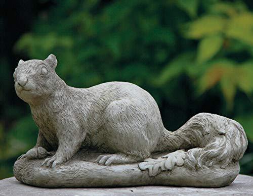 Squirrel Statue | Reconstituted Stone Vintage Animal Concrete Garden Ornament