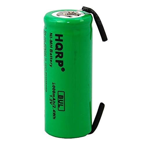 HQRP Batería 42mm para Braun 5000, 3738, 3745, 3761, 3762 cepillo de dientes