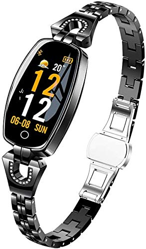 hwbq Reloj inteligente Fitness Tracker 0.96 pantalla táctil impermeable IP67 Fitness Watch con monitor de ritmo cardíaco, podómetro