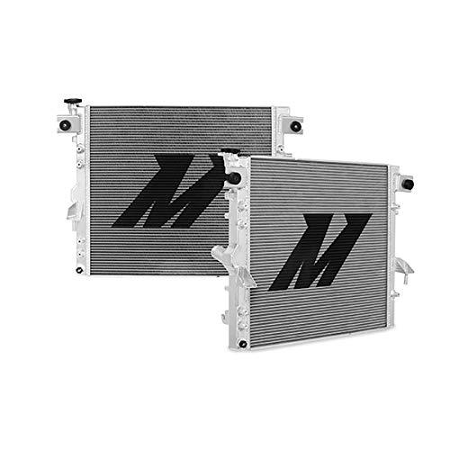 Mishimoto MMRAD-WRA-07V2 Aluminum Radiator Compatible With Jeep Wrangler JK 2007-2017 Silver