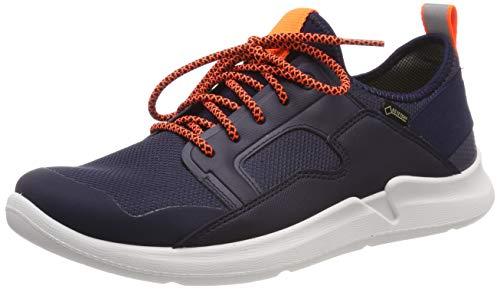 Superfit Jungen Thunder Gore-Tex Sneaker, Blau (Blau/Orange 80), 35 EU