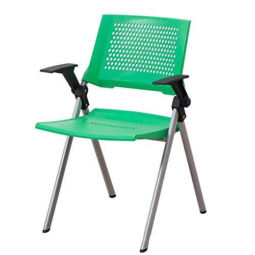 LXGANG Taburete plegable de Silla plegable silla cómoda y transpirable portátil plegable de plástico ligero con respaldo Silla de oficina for facilitar el almacenamiento y el transporte de Gabinete Co