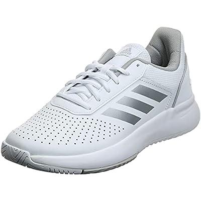adidas COURTSMASH, Tennis Shoe Mujer, Blanco Ftwbla Plamat Gridos 000, 38 2/3 EU