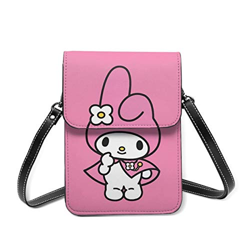 Lovely Melody Cell Phone Purse with Credit Card Slots Crossbody Shoulder Bag for Women Teen