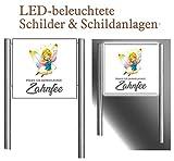 LED - Praxisschild/Praxisbeschilderung/Standschild