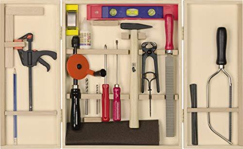 Pebaro 412 professionellt verktygsskåp med 23 delar