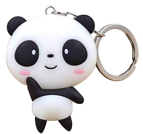 Promotech Porte-clés mignon Panda pour filles et femmes.