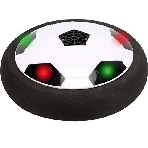 happy globe AIR Power Fußball LED | Leuchtende Fussball Spielscheibe mit Luftkissen & bunten LEDs | Ideales Outdoor Spielzeug & Fussball Kinder Geschenk