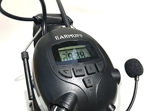 2017 DS-Alert EARMUFF dynamischer 31dB Gehörschutz mit BLUETOOTH und Surround Umgebungswahrnehmung - 6
