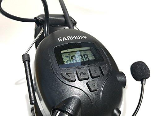 2017 DS-Alert EARMUFF dynamischer 31dB Gehörschutz mit BLUETOOTH und Surround Umgebungswahrnehmung - 5