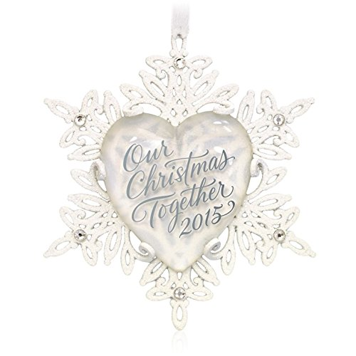 Hallmark Keepsake Ornament Our Christmas Together 2015