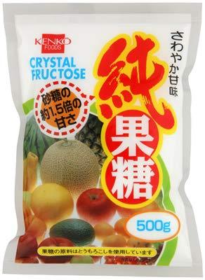 健康フーズの純果糖500g×3個          JAN: 4973044040164