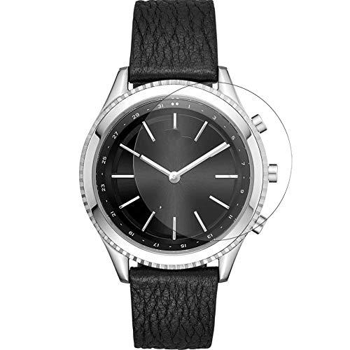 Vaxson 3 Stück Schutzfolie, kompatibel mit DKNY Minute 38mm Smartwatch Hybrid Watch, Displayschutzfolie Bildschirmschutz Blasenfreies [nicht Panzerglas]