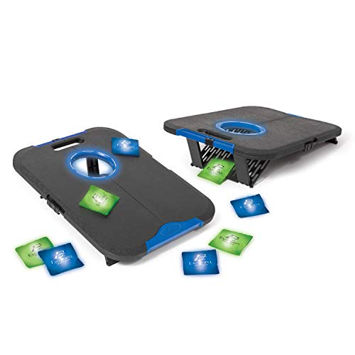EastPoint Sports Light-Up Bean Bag Toss Outdoor Game - Cornhole-Style Team Fun for Parties, Tailgates, Cookouts, and More