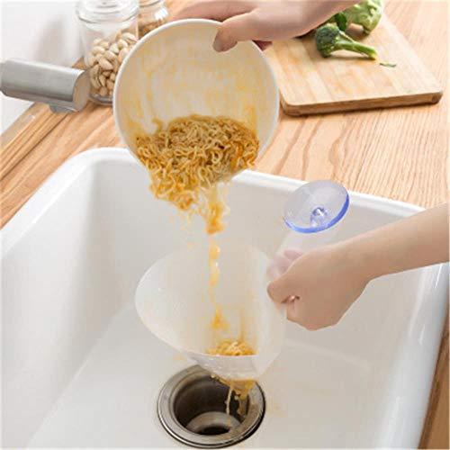 Sink Filter Zelfstandige Afvoerspoelbak Leftovers Soepsap Filter Eenvoudige Spoelbak Anti-Blokkering Sorteren Vuilnis Keuken trechter Drain