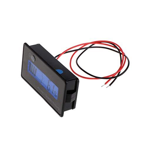 Weishazi Digitaler Voltmeter-Teer f�r Blei-S�ure, 8-70 V, Blau Batterie