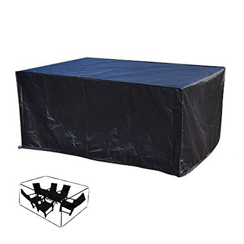 IJNBHU Fundas para Muebles de Jardín, Fundas de Muebles Oxford, Impermeable Anti-UV Resistente al Polvo, 210D, Funda Muebles Exterior, Funda Muebles Jardin242x162x100cm