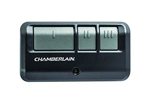 Chamberlain/LiftMaster / Craftsman 953EV-P2 3-Button Garage Door Opener Remote, Security +2.0 Compatible, Includes Visor Clip