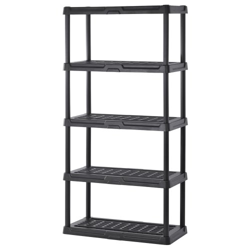 Sandusky Lee PS361872-5B Plastic Shelving, 36