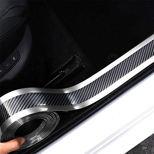 Autostickers Koolstofvezel Vinyl Waterdichte film Auto's Instaplijsten Kofferbakbeschermer Sticker en stickers Accessoires