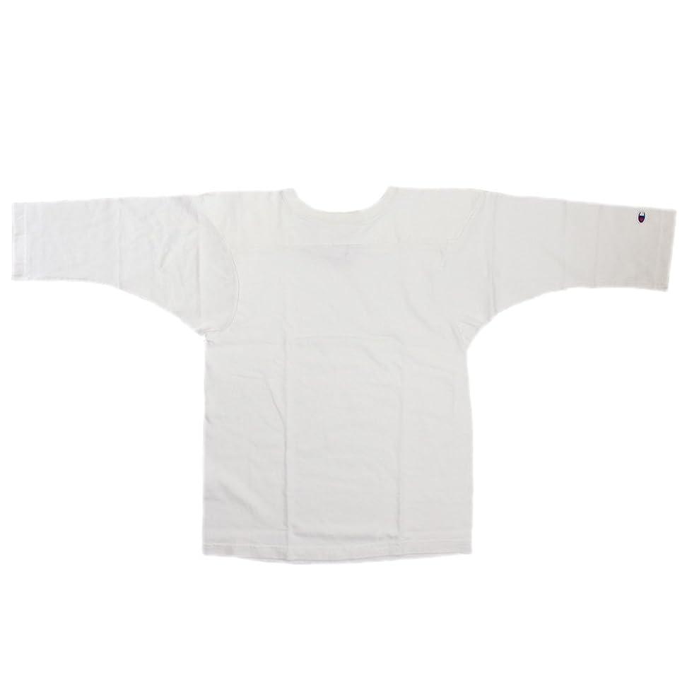 聴衆ビーズ部屋を掃除するChampion (チャンピオン) C5-U403 T1011 3/4 SLEEVE FOOTBALL T-SHIRT フットボール 7分袖 ティーシャツ アメリカ製