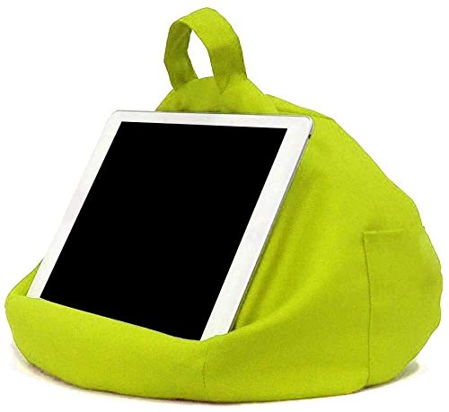 aycpg Multi-Angle Tablet Pillow Reading Pillow Beanbag Pillow Stand Soft Pillow Laptop Pillow Holder Portable pillow stand for iPads, tablets, e-readers, smartphones-C (Size : A)