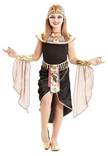 EUROCARNAVALES Disfraz de Egipcia para Niña de 7 a 9 años