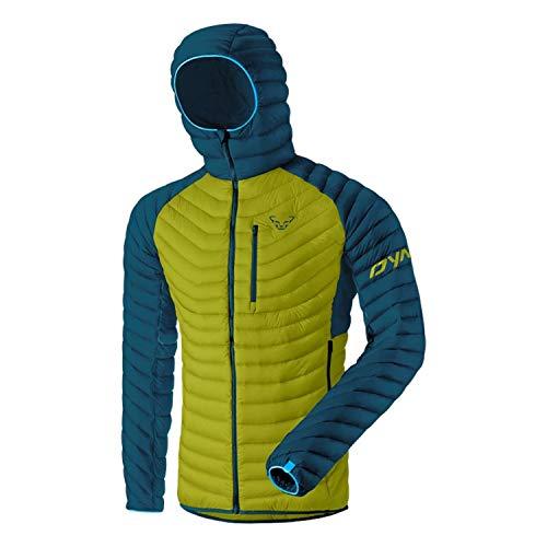 DYNAFIT M Radical Down Hooded Jacket Grün, Herren Daunen Isolationsjacke, Größe L - Farbe Moss