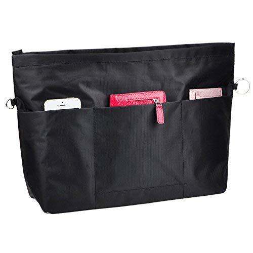 VANCORE Bag in Bag Organizer Borsa Organizzatore Donne con Zip Borsa Organizer