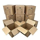 Uboxes 12 Premium Medium Moving Boxes 18x18x16'...