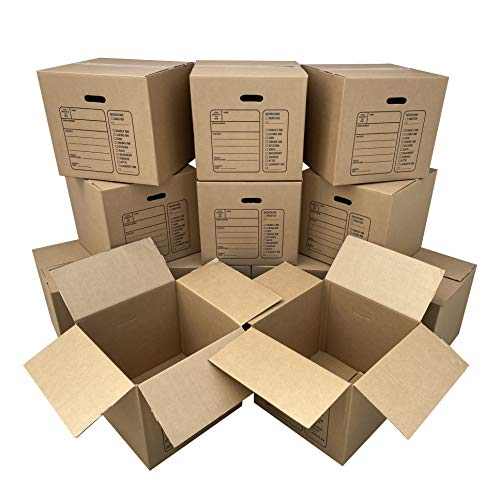 of place to get boxes for movings Uboxes 12 Premium Medium Moving Boxes 18x18x16