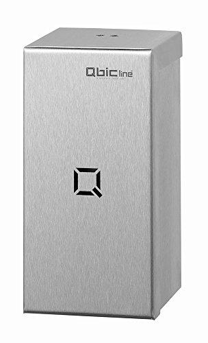 Qbic-line Lufterfrischer - Edelstahl - abschließbar - mit integriertem Ventilator - Duftspender