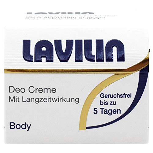 Lavilin Deo Body Creme 10 ml - Schutz vor Schweissgeruch bis 5 Tage, für Herren und Damen; ohne Aluminium, extrem wirksam und ergiebig