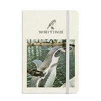 南極のペンギンの自然科学写真 ノートブッククラシックジャーナル日記A 5を書く